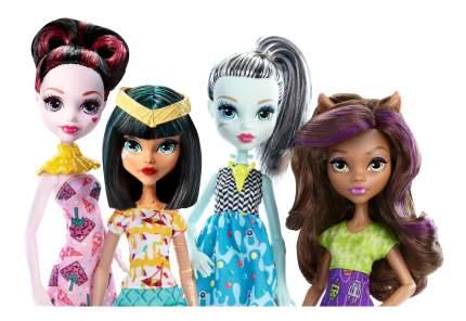 Набор кукол Monster High Монстры с мороженым: Клодин, Френки, Дракулаура и Клео DPW92