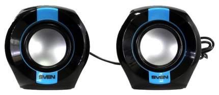 Колонки компьютерные 2.1 Sven 150 2x2.5 Вт черно-синие