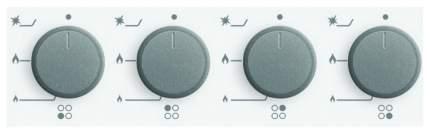 Встраиваемая варочная панель газовая Simfer H60M40W412 White