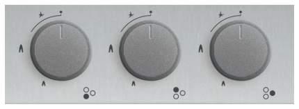 Встраиваемая варочная панель газовая Simfer H45V35M511 Silver