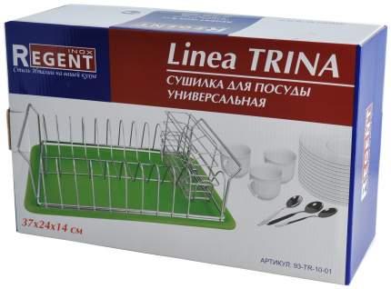 Сушилка для посуды Regent Inox TRINA 37x24x14 см
