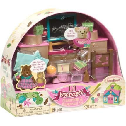 Набор Lil Woodzeez для классной комнаты и игровой площадки 20 предметов