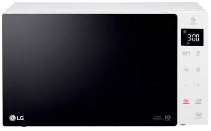 Микроволновая печь с грилем LG MH63M38GISW white