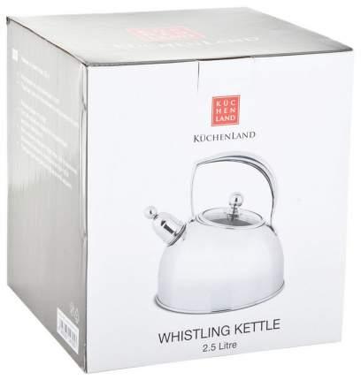 Чайник для плиты Kuchenland УТ000040626 2.5 л
