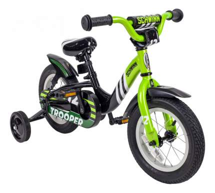 Велосипед Schwinn Troper Велосипед двухколесный Trooper Black/Lime 43247 43247