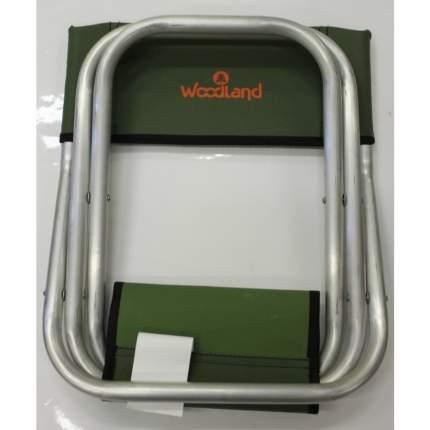 Стул Woodland Tourist ALU MINI,33,5 х 29 х 39 (67,5) см, складной, со спинкой ASM-001