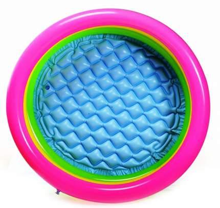 Детский надувной бассейн Intex 58924 Радуга надувное дно 86х25 см