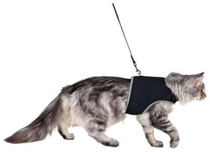 Шлейка для кошек Trixie Cat Soft Harness размер 36 х 54 см черный