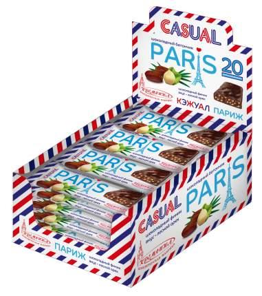 Шоколадный батончик Кремлина кэжуал Париж 20 штук