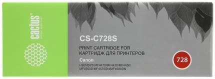 Картридж Cactus CS-C728 Черный