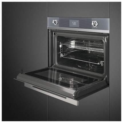 Встраиваемый электрический духовой шкаф Smeg SF4102MCS Silver