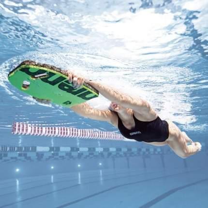 Доска для плавания Arena Kickboard 95275 зеленая (60)