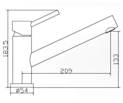 Смеситель для кухонной мойки Seaman SSN-1381 395352 хром
