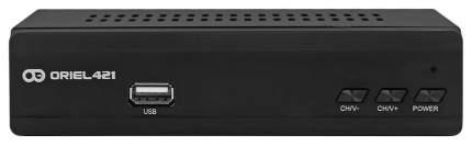 DVB-T2 приставка Oriel 421 Black
