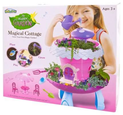 Игровой набор JUNFA Коттедж волшебный с эффектами без семян розовый BK1801