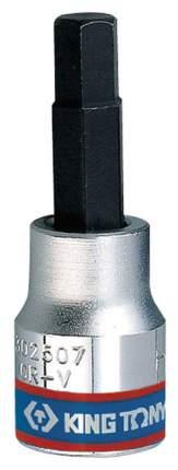 Торцевая головка с вставкой битой KING TONY 302507