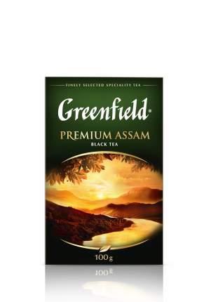 Чай черный Greenfield листовой premium assam 100 г