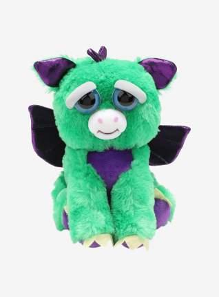 Мягкая игрушка ABtoys Дракон с крыльями зеленый Feisty pets 22 см