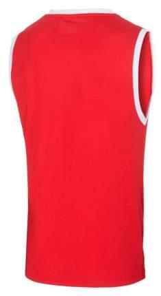 Майка баскетбольная JBT-1020-021, красный/белый, детская (YL)