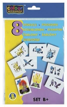 Шаблоны для фломастеров Color Workshop, комплект B+ Сказки