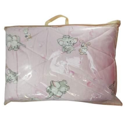 Одеяло стеганое Папитто файбертек 110*140 Розовый 008