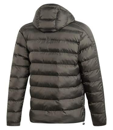 Куртка Adidas Itavic 3-Stripes 2.0 Padded Hooded FZ, legend earth/black, L