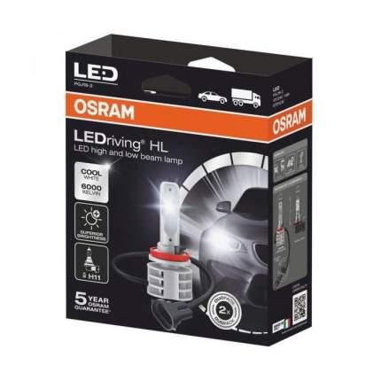 Лампа Led H11 67211cw 14w 12v/24v Pgj19-2 4x2 OSRAM арт. 67211cw
