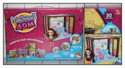 Модный дом ABtoys в наборе с куклой и мебелью 50 деталей PT-00850
