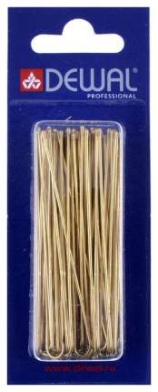 Аксессуар для волос Dewal SLT70V-5/60 70 мм Золотистые 60 шт