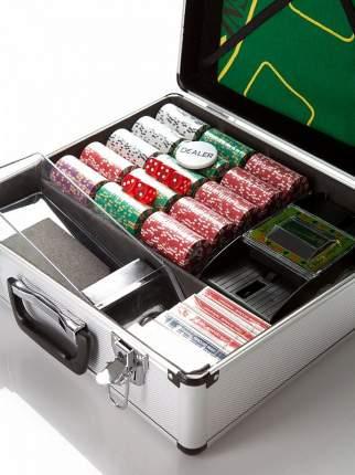 Набор для игры в покер и блэк-джек Partida Royal Flush на 600 фишек