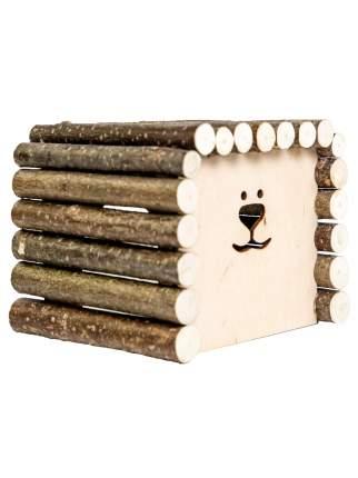 Домик для грызунов Zoobaloo КвадроДом большой, 23 х 20 х 17см