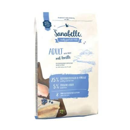 Сухой корм для кошек Bosch Sanabelle Adult, форель, 2кг
