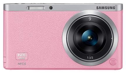 Фотоаппарат системный Samsung NX mini 9mm Pink