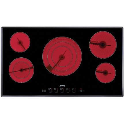 Встраиваемая варочная панель электрическая Smeg SE2951TC2 Black