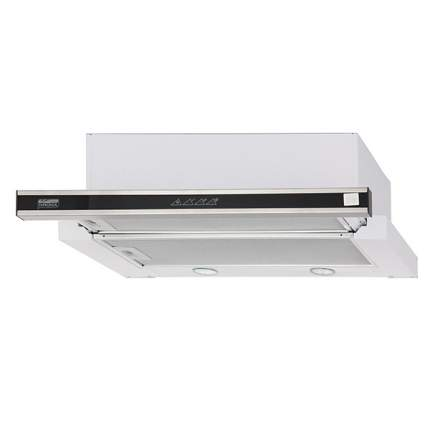 Вытяжка встраиваемая Krona Kamilla sensor 600 White/Silver