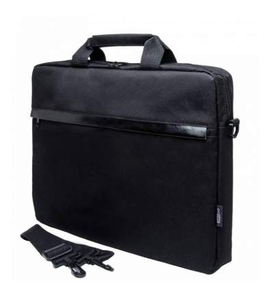 """Сумка для ноутбука 15.6"""" PC Pet HQ 1002BK Classic черная"""