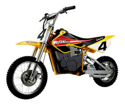 Электромотоцикл razor mx650