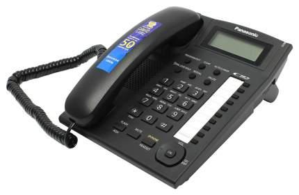 Проводной телефон Panasonic KX-TS2388RUB черный
