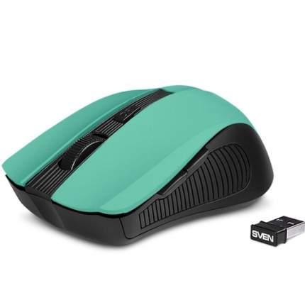 Беспроводная мышка Sven RX-345 Green (RX-345)