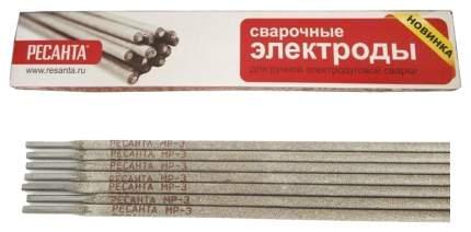 Сварочный электрод Ресанта МР-3 Ф3 Пачка 1 кг 71/6/20
