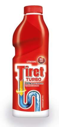Средство для очистки труб и сливов Tiret turbo 1 л