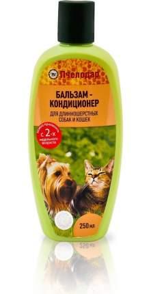 Кондиционер для кошек и собак Pchelodar для длинношерстных, мед и травы, 250 мл