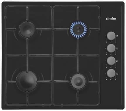 Встраиваемая варочная панель газовая Simfer H60Q40B411 Black