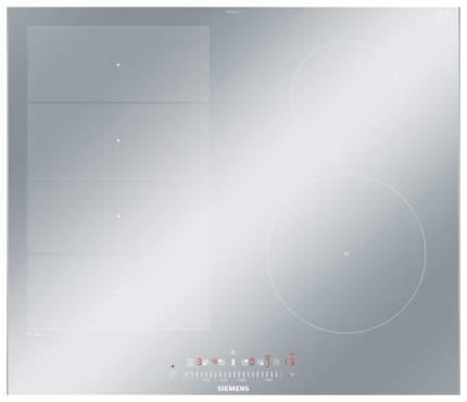 Встраиваемая варочная панель индукционная Siemens EX679FEC1E Silver