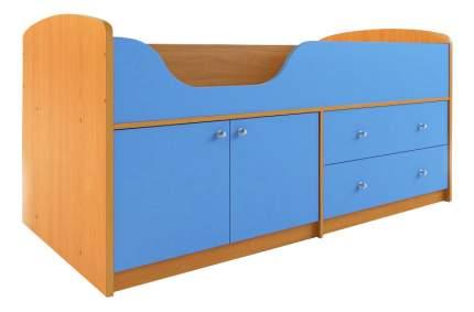 Кровать Сканд Мебель Приют-мини 007 М4 вишня/светло-синий