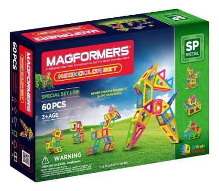 Конструктор Magformers магнитный Neon color set 60