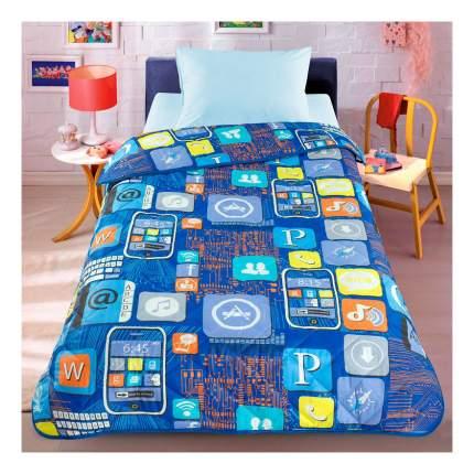 Покрывало-одеяло Letto Смартфон облегченное 140х200