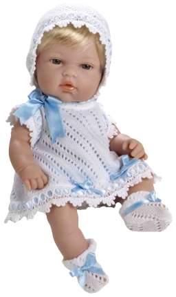 Пупс Arias Elegance в белом с голубым платье 33 см Т59269