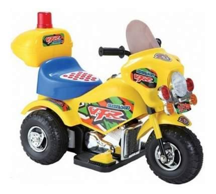 Мотоцикл Игротрейд VFR на аккумуляторе желтый