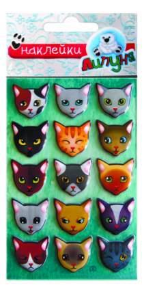 Наклейка декоративная для детской комнаты Липуня Кошки